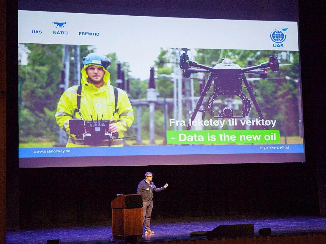 Droner i Norge 2018